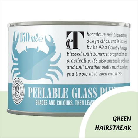 Thorndown Green Hairstreak Peelable Glass Paint