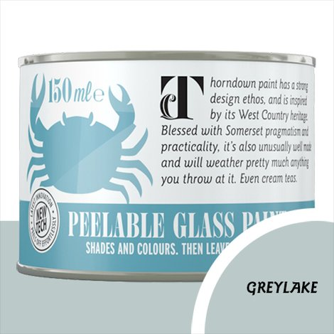 Thorndown Greylake Peelable Glass Paint