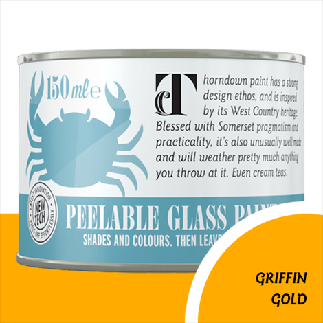 Thorndown Griffin Gold Peelable Glass Paint