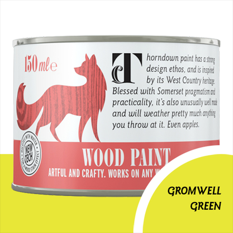 Thorndown Gromwell Green Wood Paint