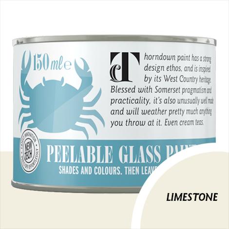 Thorndown Limestone Peelable Glass Paint