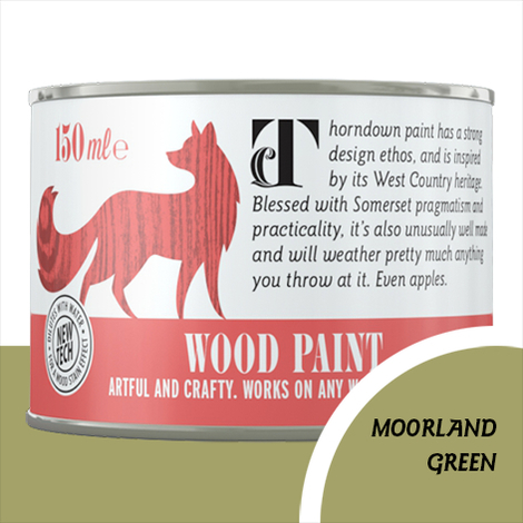 Thorndown Moorland Green Wood Paint