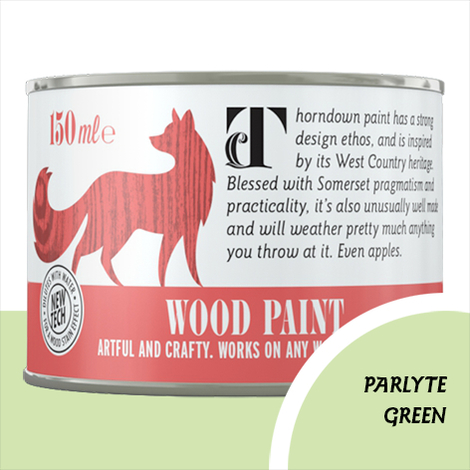Thorndown Parlyte Green Wood Paint