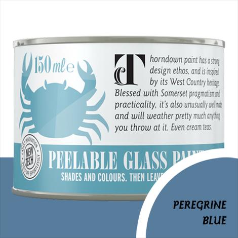 Thorndown Peregrine Blue Peelable Glass Paint