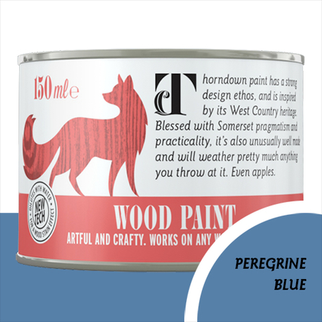 Thorndown Peregrine Blue Wood Paint