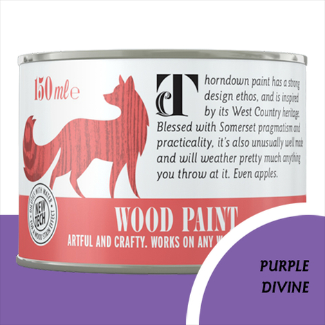 Thorndown Purple Divine Wood Paint