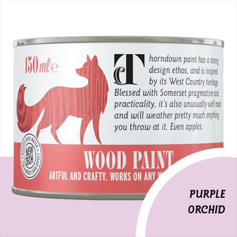 Thorndown Purple Orchid Wood Paint