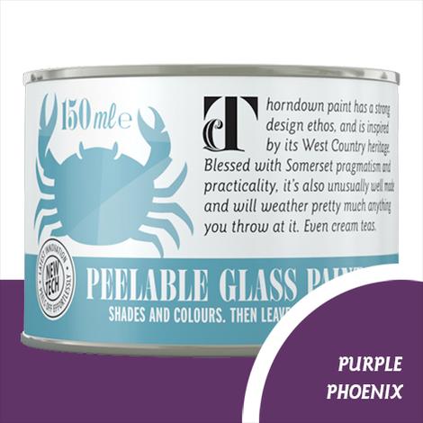 Thorndown Purple Phoenix Peelable Glass Paint