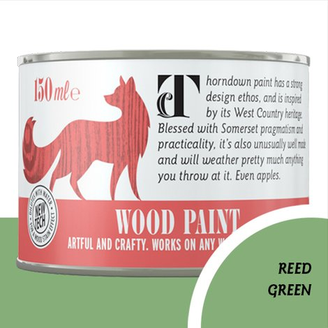 Thorndown Reed Green Wood Paint