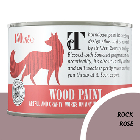 Thorndown Rock Rose Wood Paint