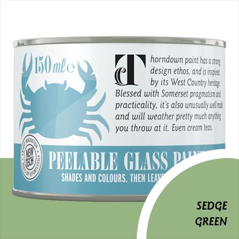 Thorndown Sedge Green Peelable Glass Paint