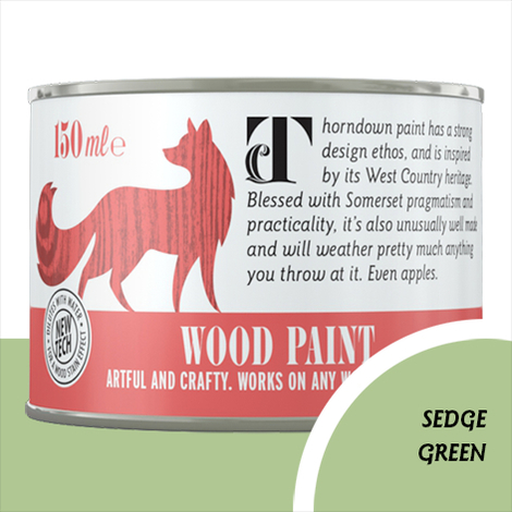 Thorndown Sedge Green Wood Paint
