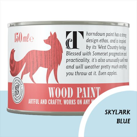 Thorndown Skylark Blue Wood Paint