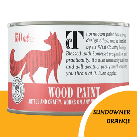 Thorndown Sundowner Orange Wood Paint