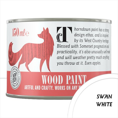 Thorndown Swan White Wood Paint