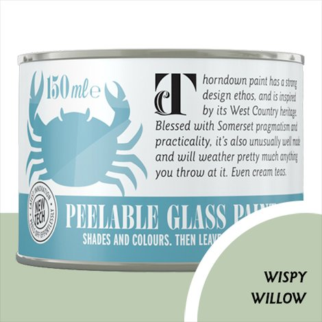 Thorndown Wispy Willow Peelable Glass Paint