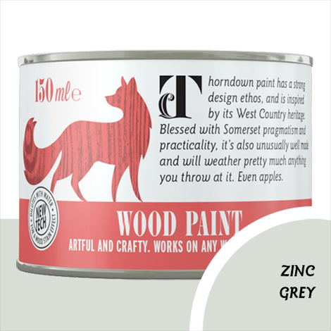 Thorndown Zinc Grey Wood Paint