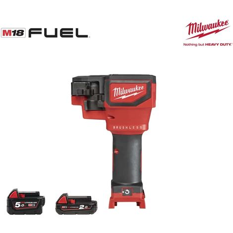 Threaded rod cutter MILWAUKEE M18 FUEL M18 BLTRC-522X - 2 batteries 5.0Ah and 2.0Ah - 1 charger 4933471151