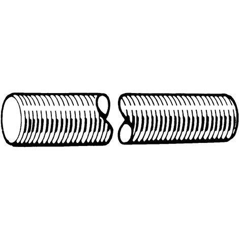 Threaded rod DIN 976-1A Stainless steel D6 (1.4462) 1 meter