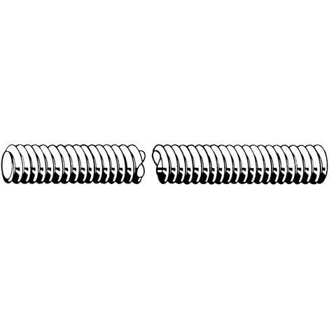 Threaded rod for shuttering, knuckle thread Steel Plain 4.8