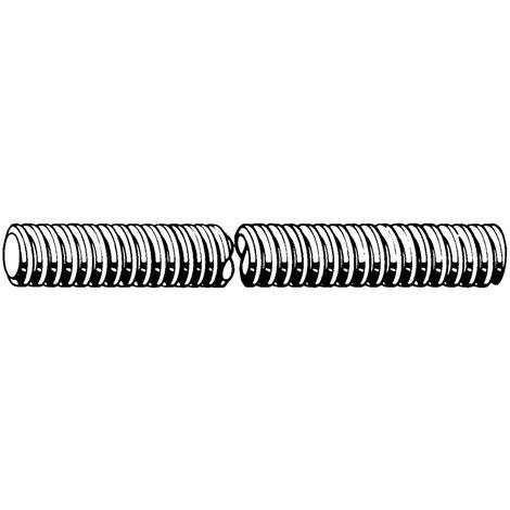 Threaded rod Tr Steel Plain C15 3 meter