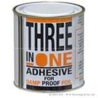 Three In One Foil Damp Adhesive - 500ml