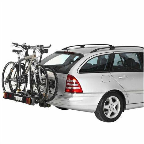 THULE Porte-vélos RideOn 2 sur Attelage 2 Vélos Charge de 30 kg Noir