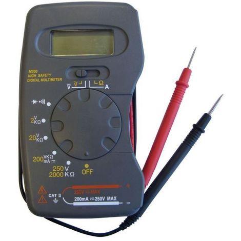 TIBELEC Testeur digital - 5 fonctions