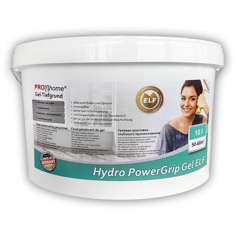Tiefgrund PROFHOME 300-23 Hydro PowerGrip Gel Spezial-Grundierung mit Gel-Struktur für Innen und Außen ELF | 10 L für max. 66 qm