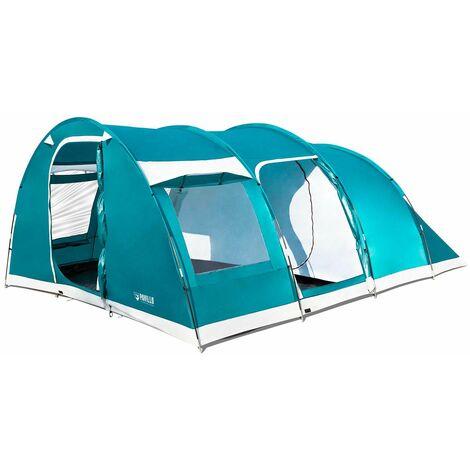 Tienda de Campaña Bestway Family Dome 490x380x195 cm 6 Personas Montaje Varillas - 68095