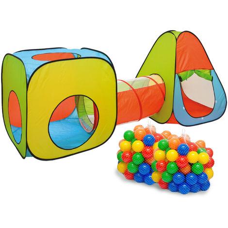 Tienda de Campaña Juguete Infantil SHIR KHAN incl 200 bolas de colores