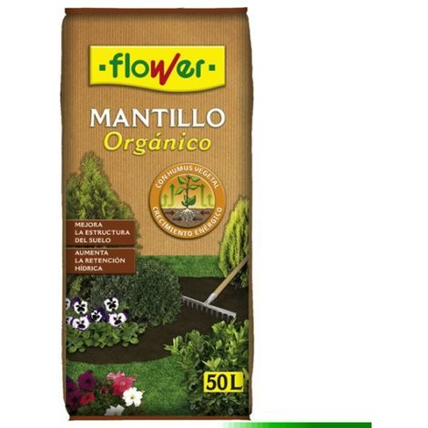 Tierra Mantillo Organico - FLOWER - 80100 - 50 L