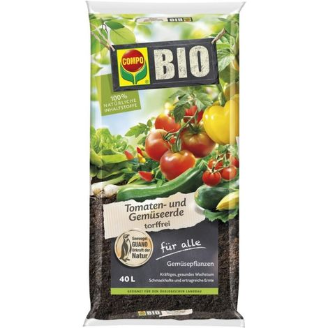 Tierra vegetal BIO para tomate 40L COMPO SANA (por 51)