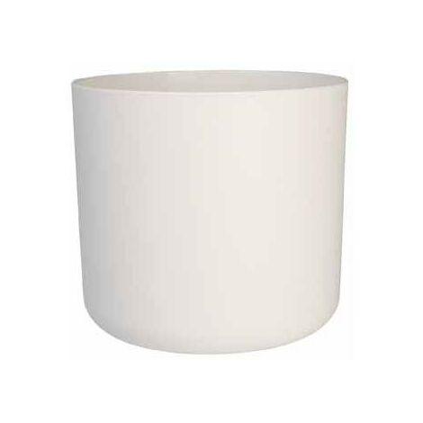 Tiesto B.for soft round blanco Elho 18 cm