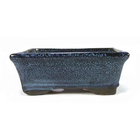 Tiesto rectangular azul 20 cm