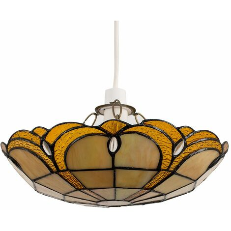 "main image of ""Tiffany Ceiling Pendant Light Shade"""