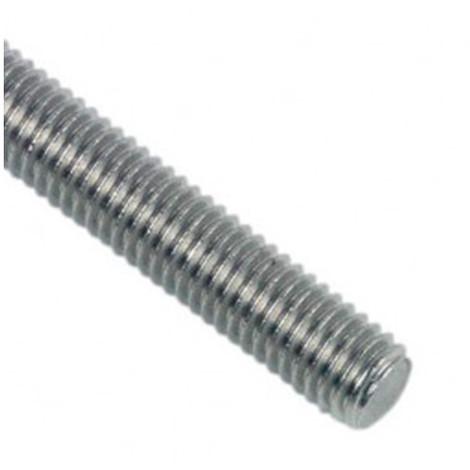 Tige filetée 1 Mètre M20 mm Zinguée - Boite de 10 pcs - Diamwood TF2002B