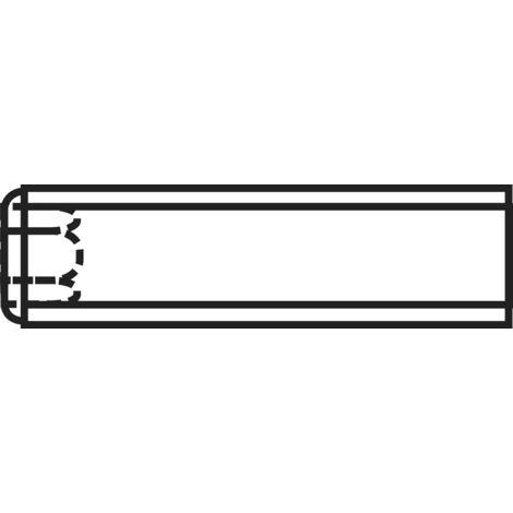 Tige filetée à six pans creux avec bague coupante DIN 916 A55352