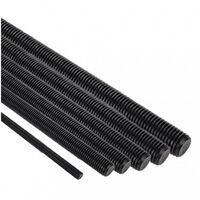 Tige filetée acier brut 4/8 - 1 mètre - plusieurs modèles disponibles