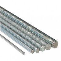Tige filetée acier zingué 4/8 - 1 mètre - plusieurs modèles disponibles