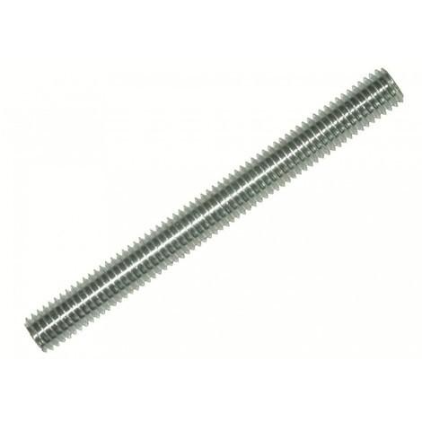 Pas de vis 100 mm Tige filetée acier zingué France Tiges Diamètre 7 mm