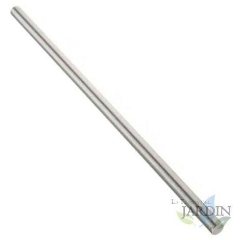 Tige métallique de 8 mm, longueur 1,2 mètres