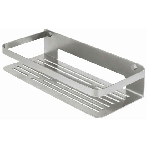 Tiger Bathroom Basket Caddy Silver Large 1400230946 - Silver