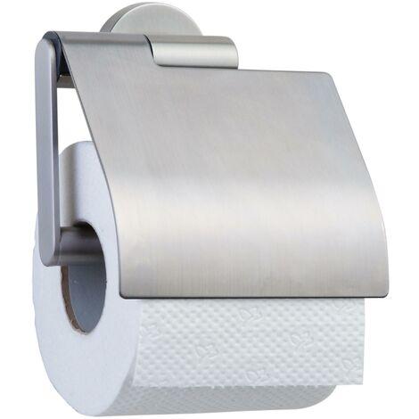 """main image of """"Tiger Boston Porte-rouleau papier toilette avec rabat Acier inoxydable brossé"""""""