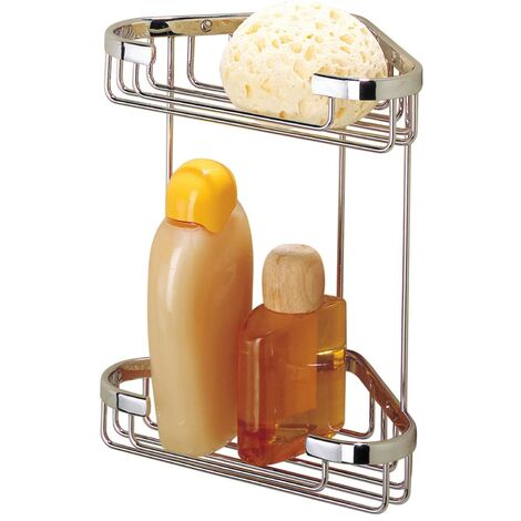 Tiger Corner Shower Caddy Exquisit Chrome 489620342