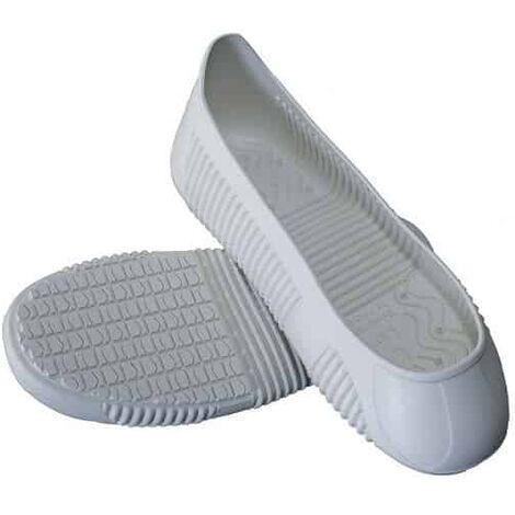 TIGER GRIP Sur-chaussures antiglisse blanches EASY GRIP - 119
