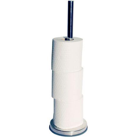 Tiger Portarrollo de papel higiénico plateado 13,4x13,4 cm 446420946