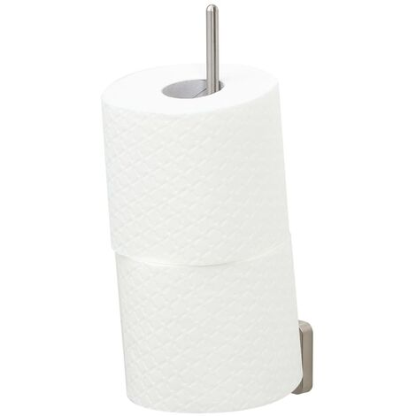 "Tiger Spare Toilet Roll Holder ""Onu"" - Silver"