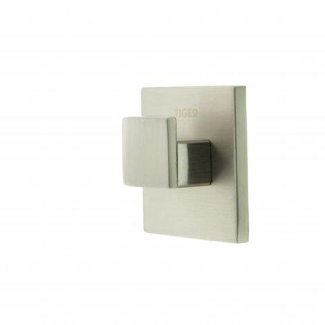Tiger Toallero de gancho Items 4x2 cm plateado 284520946