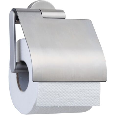 Tiger Toilet Roll Holder Boston Silver 309130946